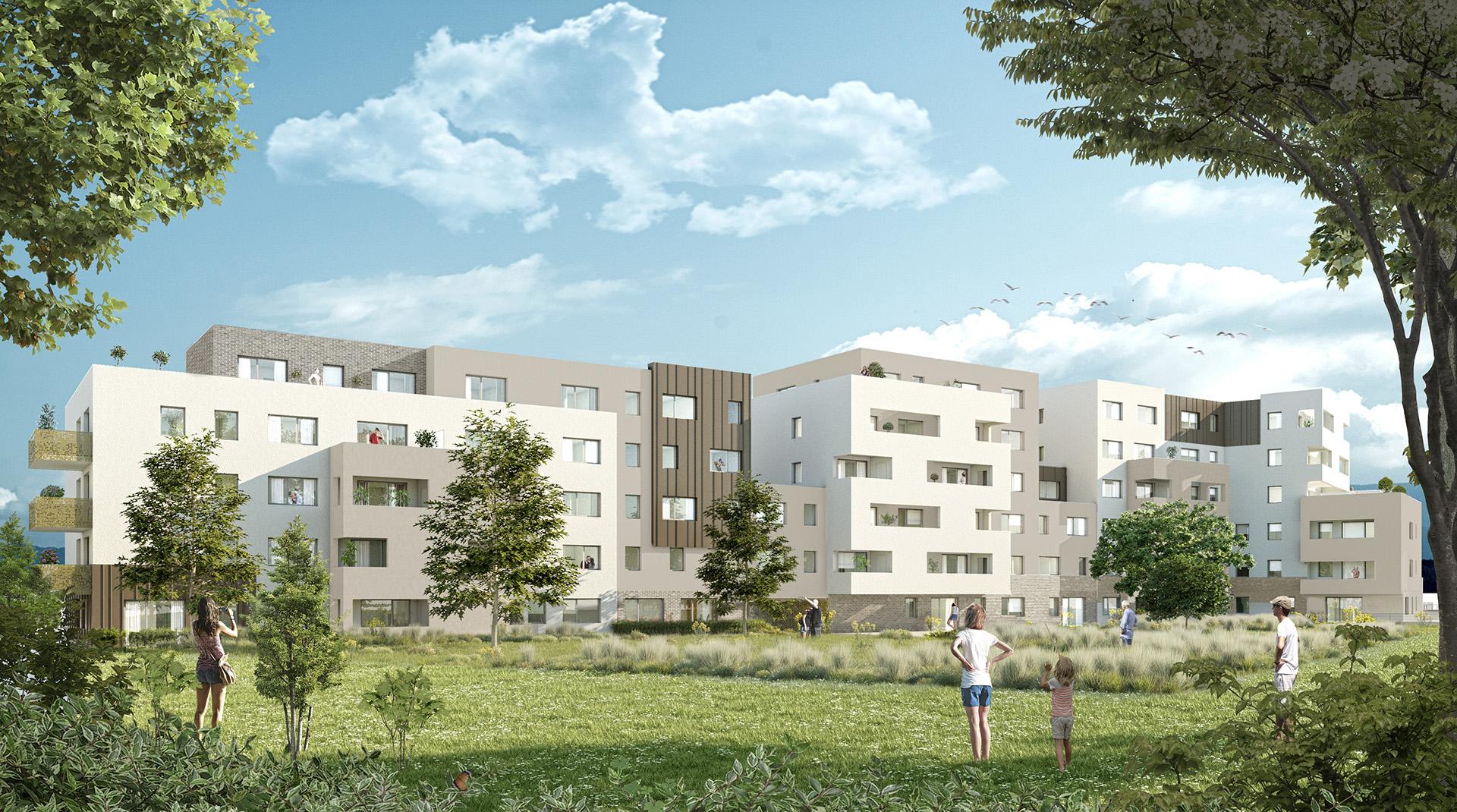 projet batigere ketplus logements brumath