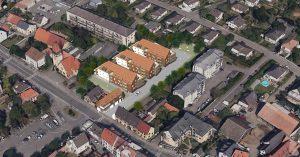 vue aérienne projet horbourg