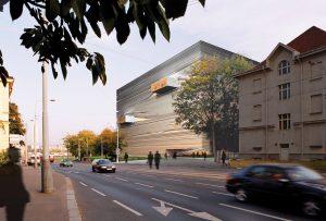 K&+ perspective bibliothèque Prague