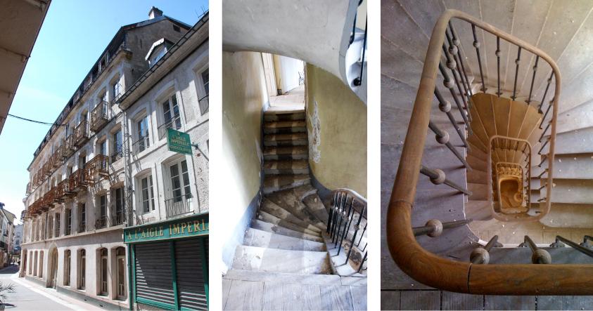 vues escaliers
