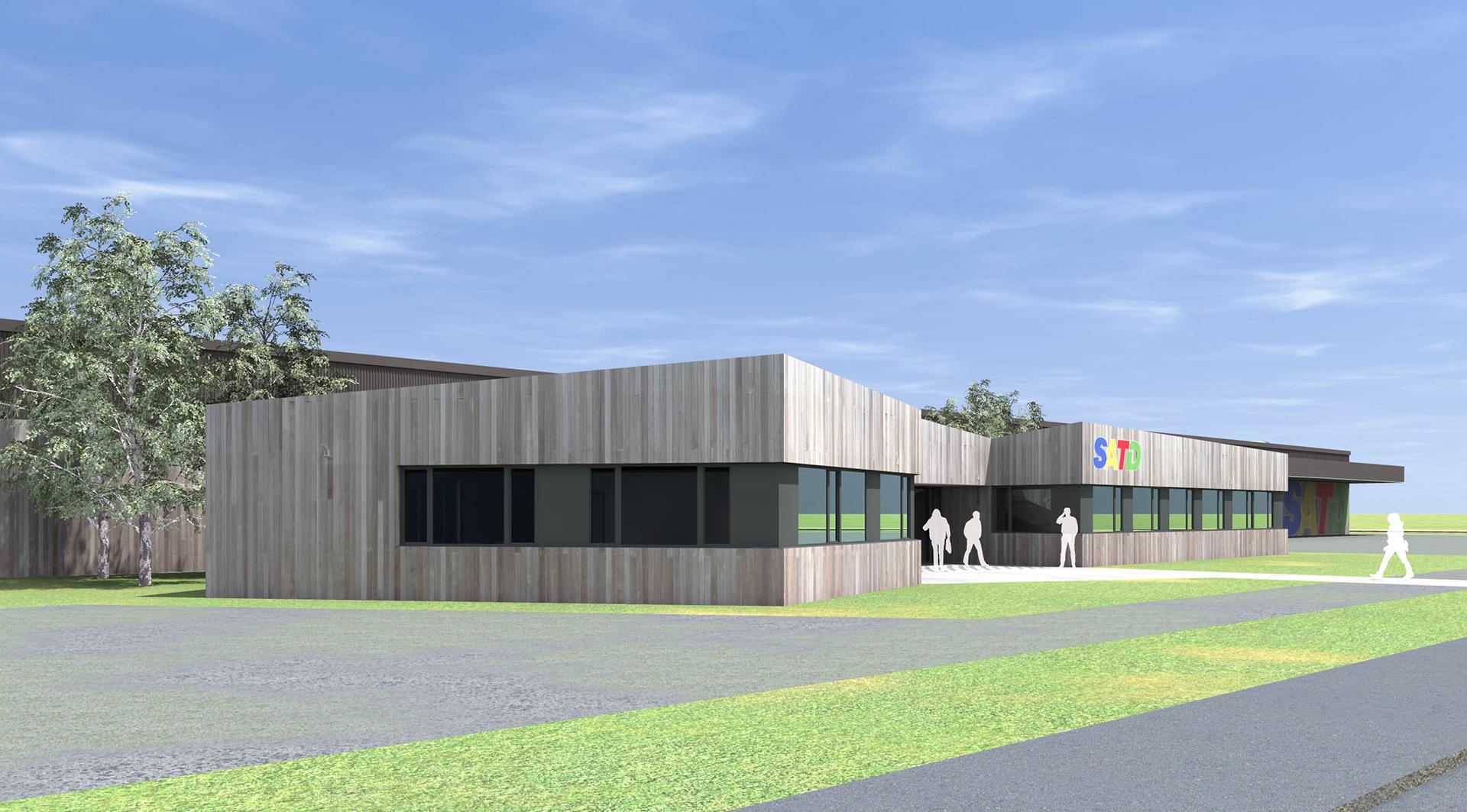 ketplus projet hall satd