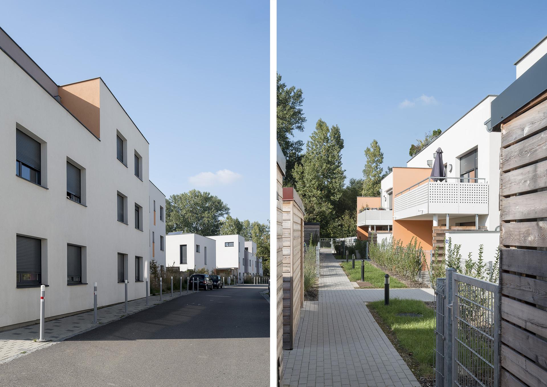 vues extérieures logements plobsheim