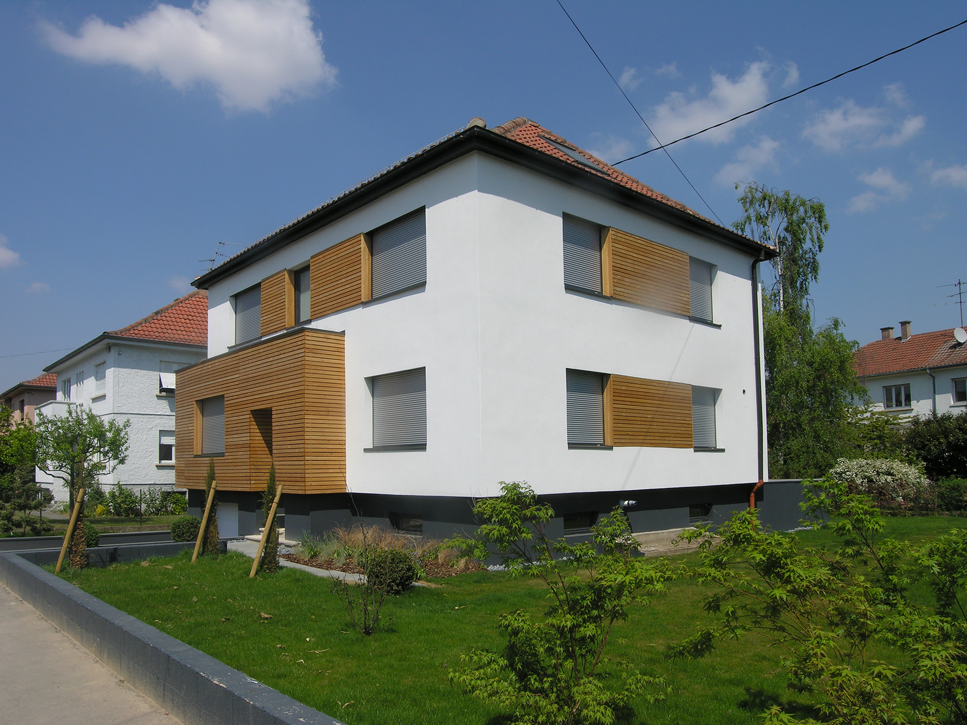 projet maison cronenbourg