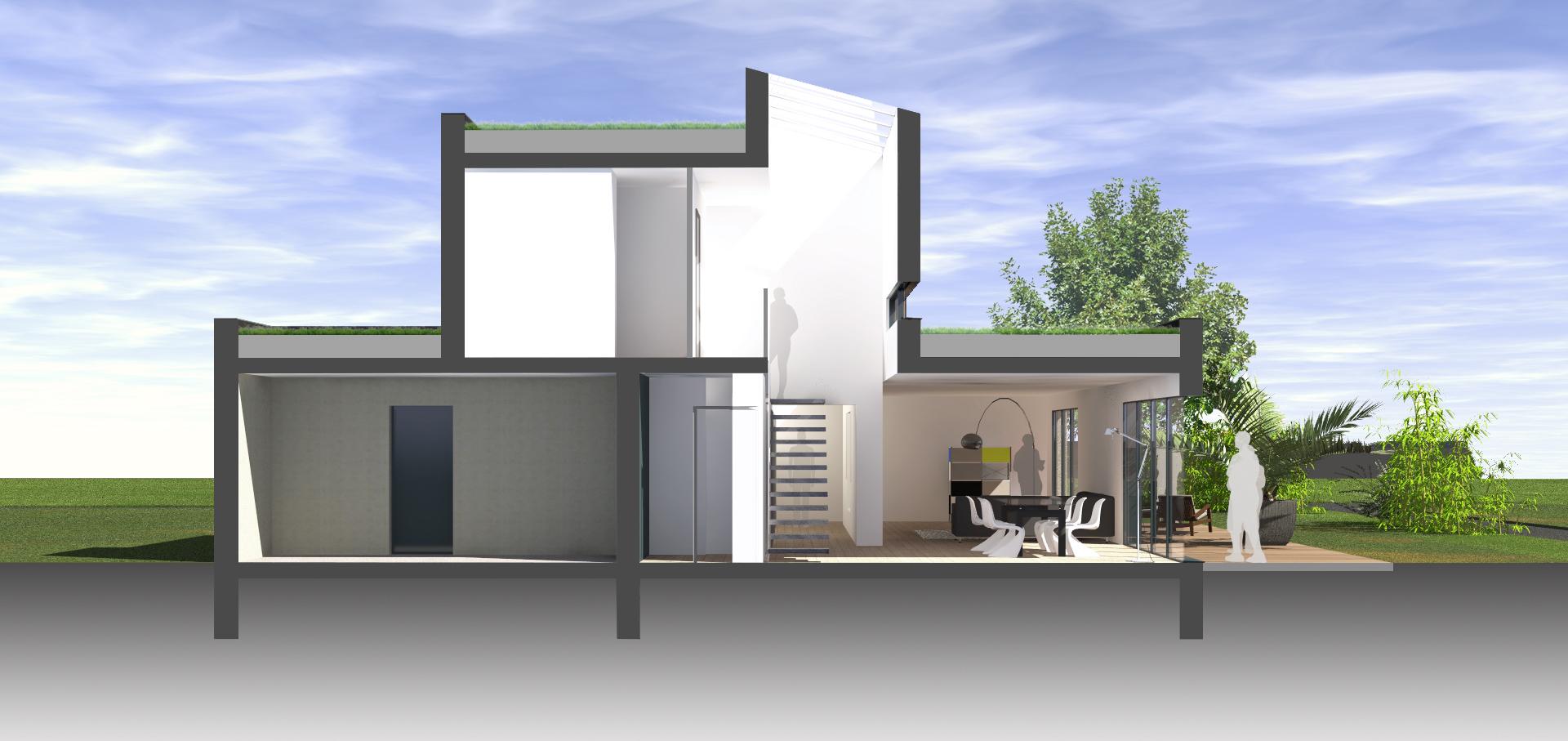 coupe projet maison furdenheim