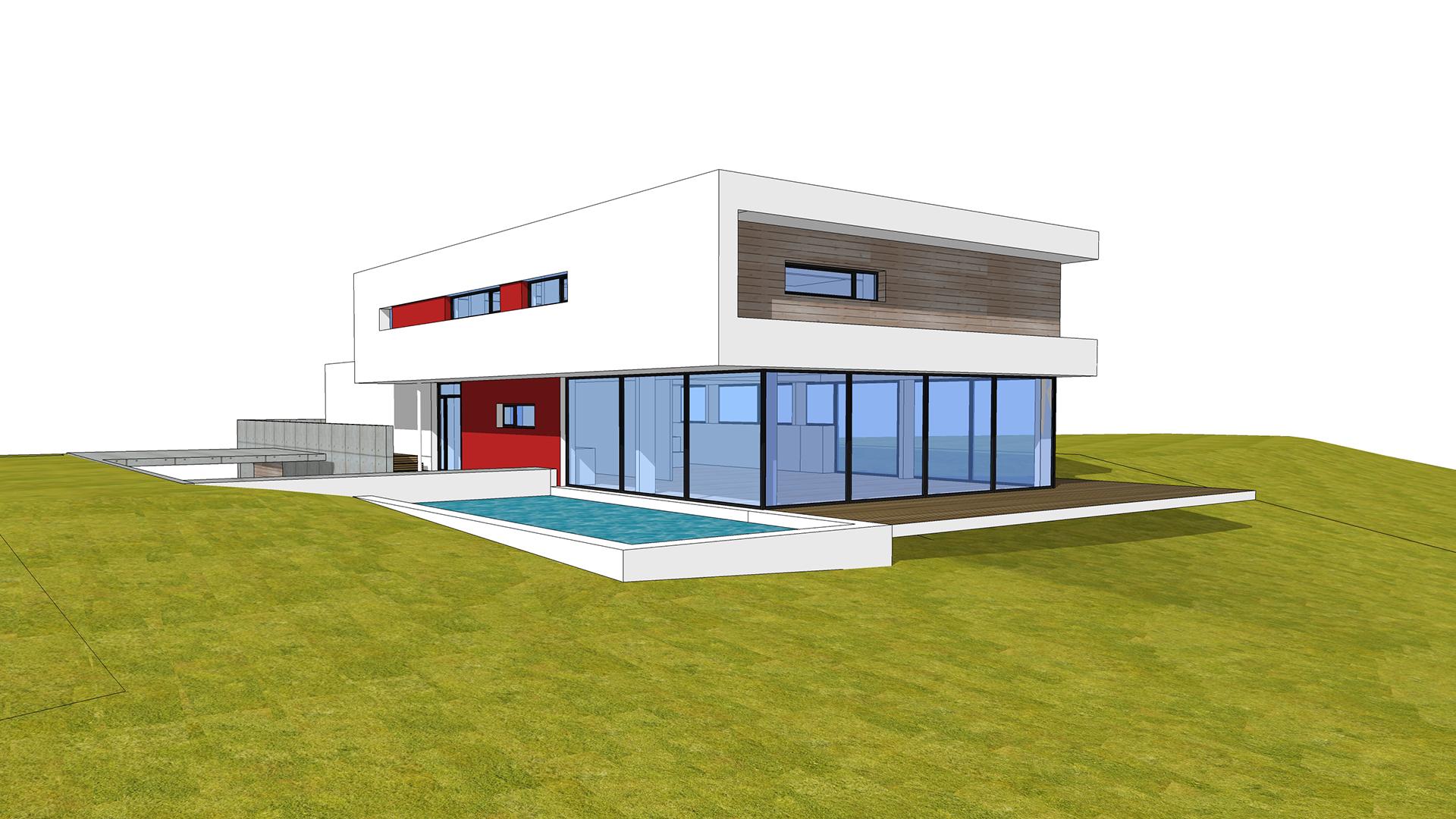 projet jardin maison individuelle